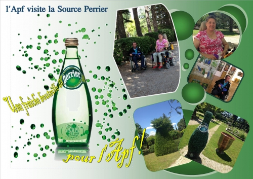 apf, source perrier, sorties