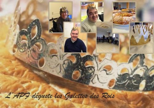 Partage, Gallete, Roi, 2014, APF